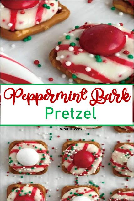 Peppermint Bark Pretzel