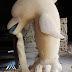 Patung batu alam paras jogja