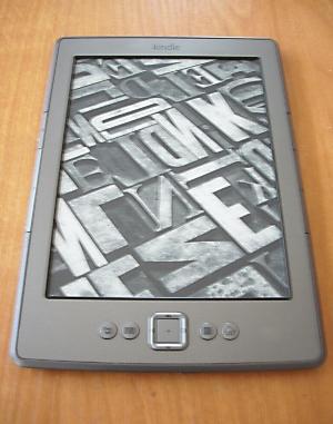 Kindle 4 - wygaszacz ekranu