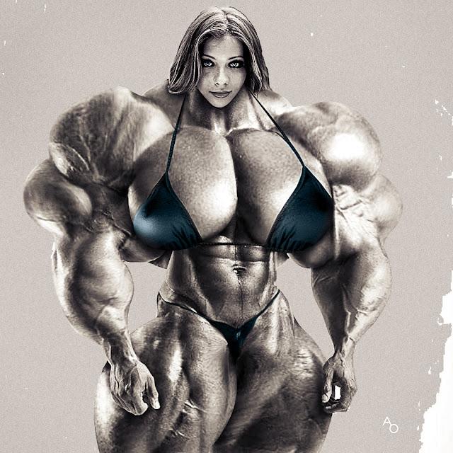 Michelle Trachtenberg muscle morph