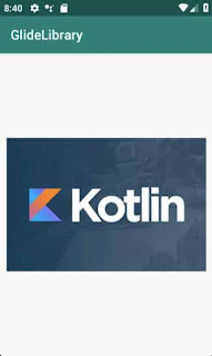 Tutorial android glide library with Kotlin