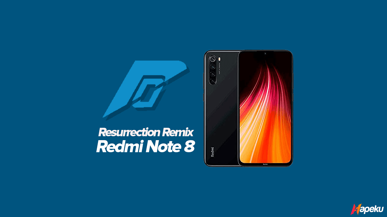 ROM Resurrection Remix Xiaomi Redmi Note 8 ( GINKGO )