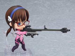 Nendoroid Mari Makinami Illustrious: Plugsuit Ver. de Evangelion, Good Smile Company