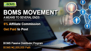 Legitimate way to make money online in Nigeria without investing a dime with Bomsmovement.com