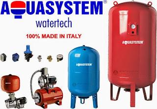 Cấu tạo bình tích áp Aquasystem
