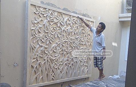 releif batu alam di yogyakarta