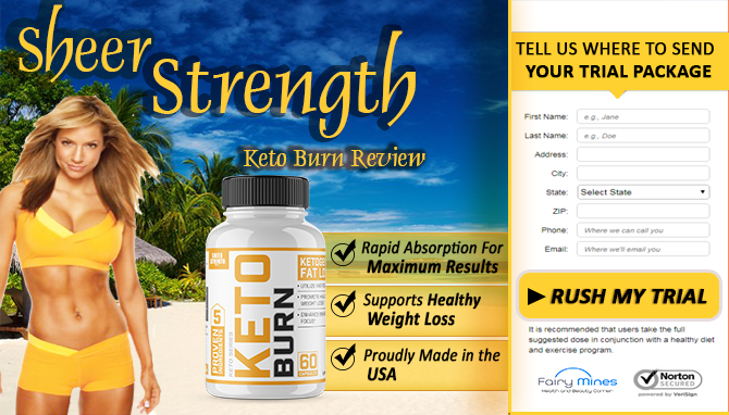 Sheer Strength Keto Burn Review