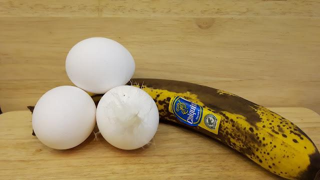Bananenwaffeln zum Frühstück