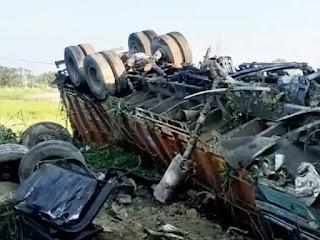 मॉर्निंग वॉक पर निकले दो भाइयों को ट्रक ने कुचला, एक की मौत, दूसरा गंभीर रूप से घायल