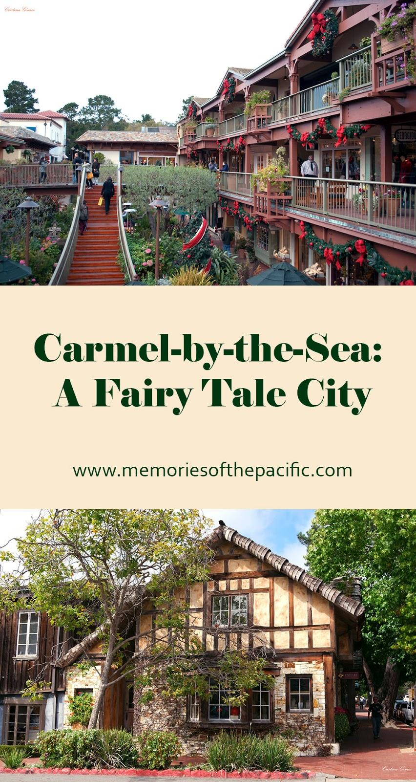 carmel downtown houses fairytale california seaside charming town pinterest pinneable