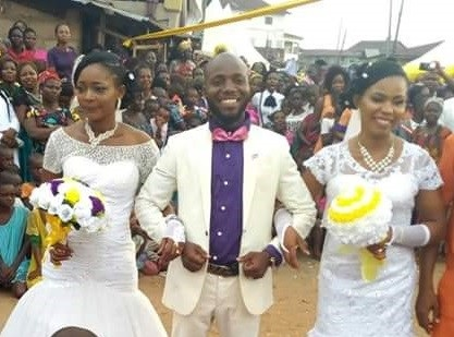 Abia Man Who Wedded 2 Wives Same Day