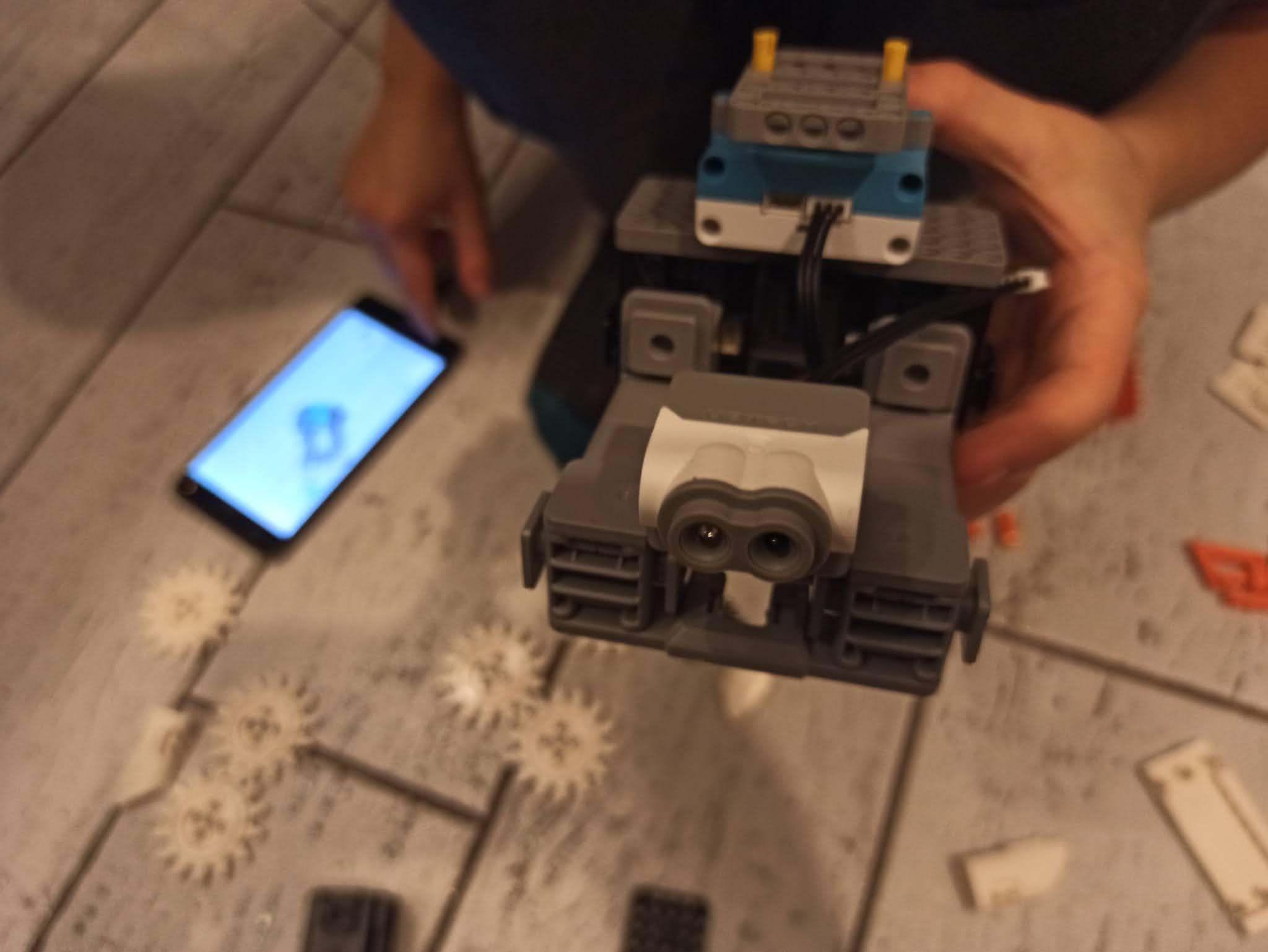 Składanie Astrobota