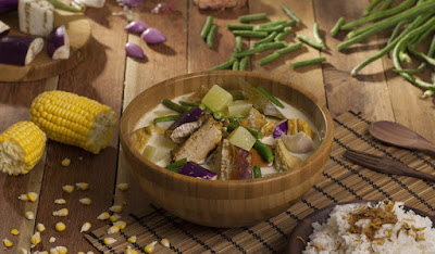 Sayur Lodeh smoked fish recipe, traditional cuisine with new Flavours