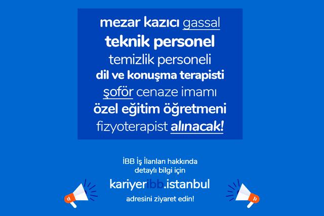 İBB Kariyer İstanbul sitesi 9 iş ilanı birden yayınladı. Başvuru şartları neler, ilanlara nasıl başvurulur? Detaylar ibb kariyer'de!