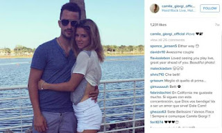 Camila Giorgi And Her Fiance