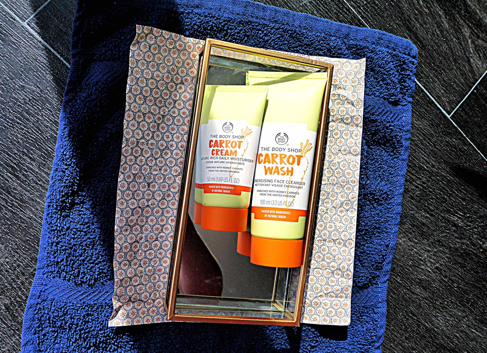 The Carrot Skincare Range From The Body Shop // Cruelty Free, Vegan Beauty