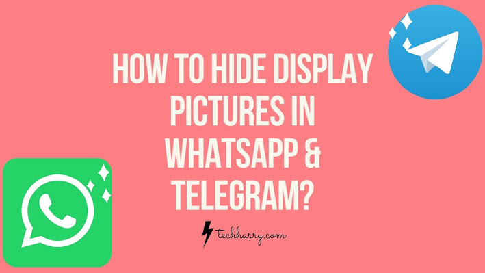 How to hide profile picture in whatsapp, how to hide profile picture in telegram
