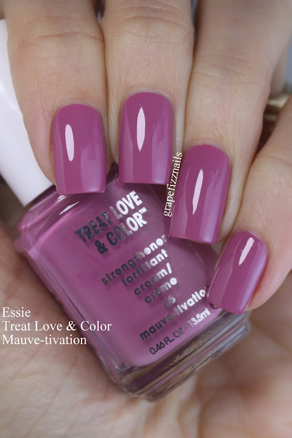 essie treat love & color, mauve-tivation