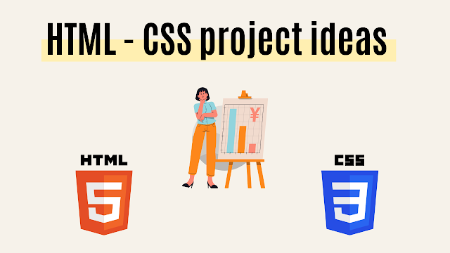 HTML - CSS project ideas by Code With Random