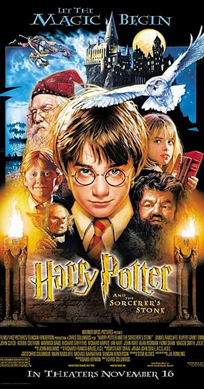 Download Harry Potter and the Philosopher's Stone (2001) Dual Audio Blu-Ray 480P 720P x264
