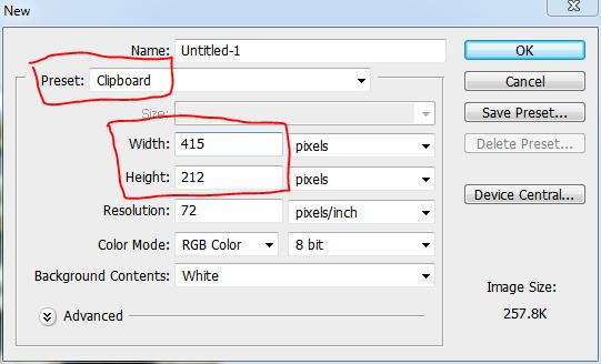 Preset: Clipboard Adobe Photoshop CS3 - Nandur93