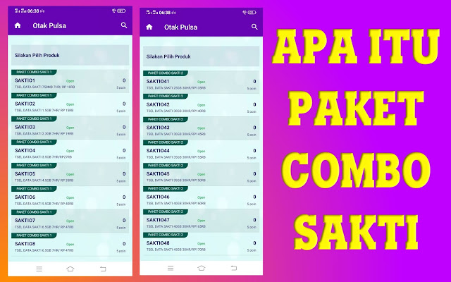 ARTICLE | MENGENAL PAKET COMBO SAKTI TELKOMSEL DI OTAAK PULSA