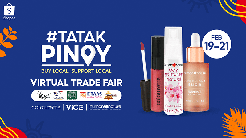 Shopee launches #TatakPinoy Virtual Trade Fair to support Filipino businesses