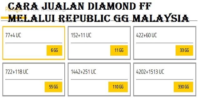 Cara Jualan Diamond FF