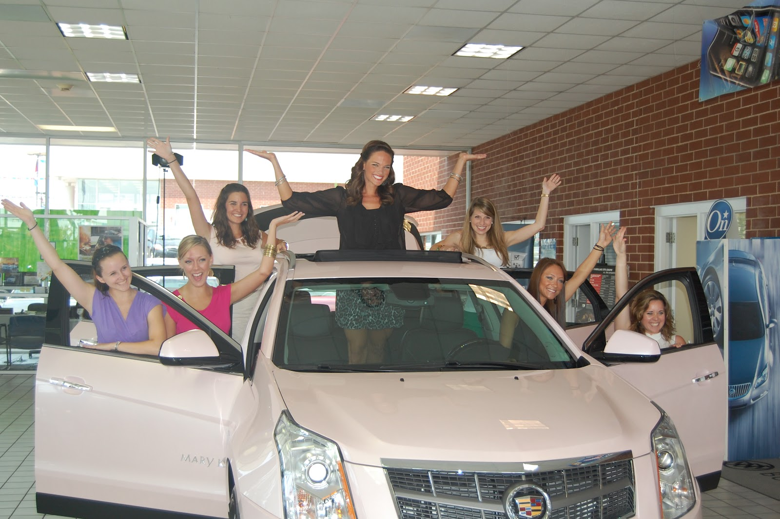 Marion Auto Sales >> The Randy Marion Automotive Group: Kelly Ingland Brock - Mary Kay Cadillac SRX