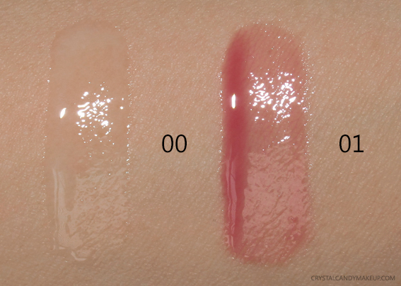 Make Up For Ever Ultra HD Lip Boosters 00 Universal 01 Cinema Swatches