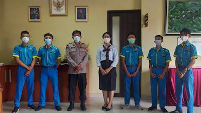 Pelepasan Praktek Kerja Industri SMK TI Bali Global Badung