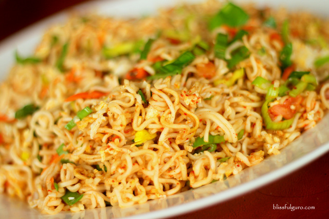 Sri Lankan Food Fried Noodles