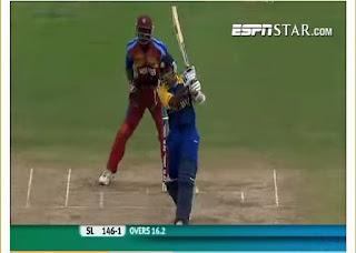 Mahela Jayawardene 98* - West Indies vs Sri Lanka 16th Match ICC World T20 2010 Highlights