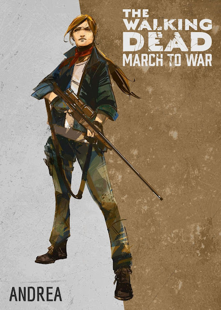 The Walking Dead: March to War - Andrea