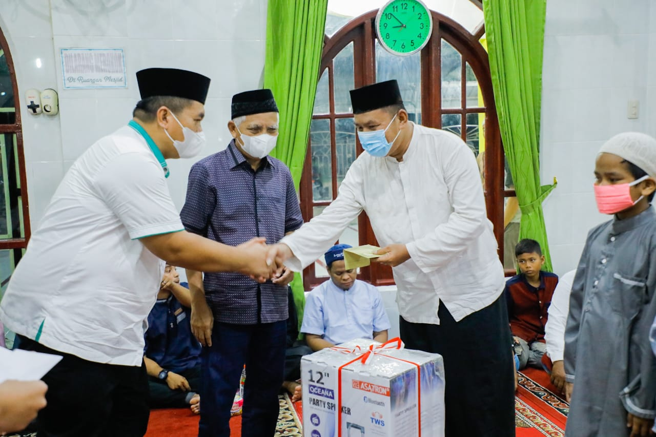 Safari Ramadhan di Mesjid Al-Hadil Haq Desa Sei Jawi Jawi, Ini Pesan Yang Disampaikan Bupati Asahan
