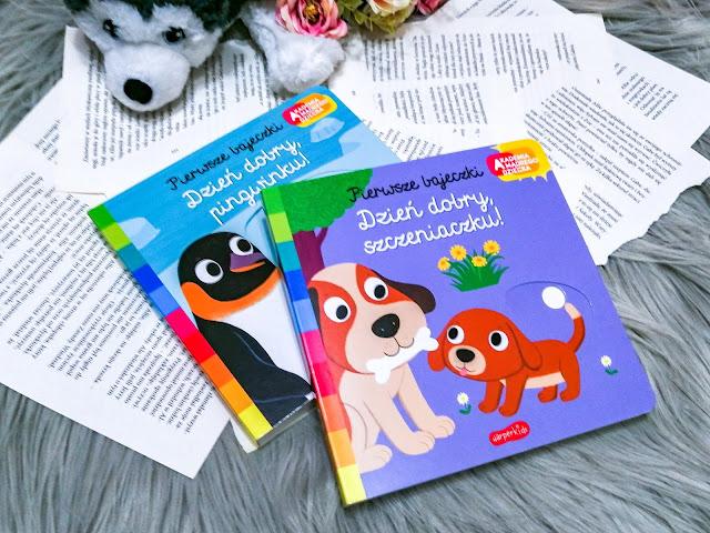 Czytam dziecku | Akademia Mądrego Dziecka. Dzień dobry, szczeniaczku! Dzień dobry, pingwinku!