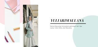 Slide ke dua foto Teh Yulia