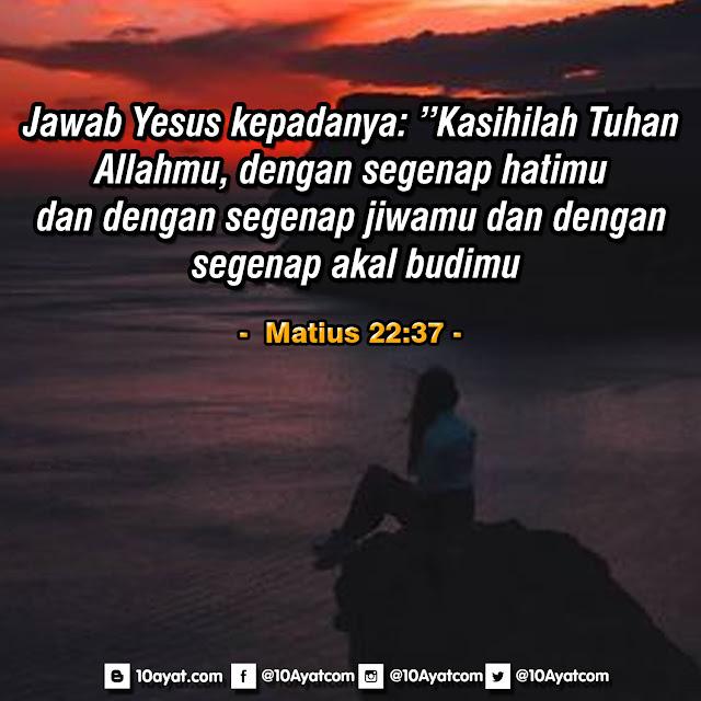 Matius 22:37