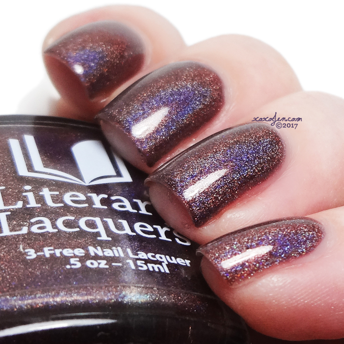 xoxoJen's swatch of Literary Lacquers If It Pleases You