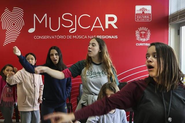 Crianças poderão participar de cursos da Oficina de Música nas férias