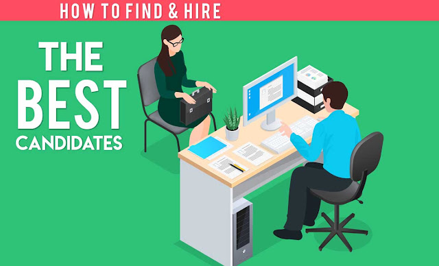 How to Find and Hire the Best Candidate #infographic