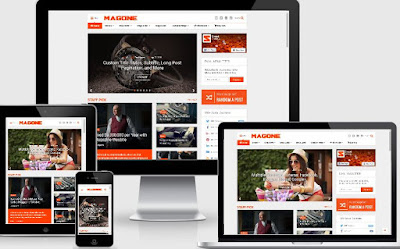 Template Blogger MagOne