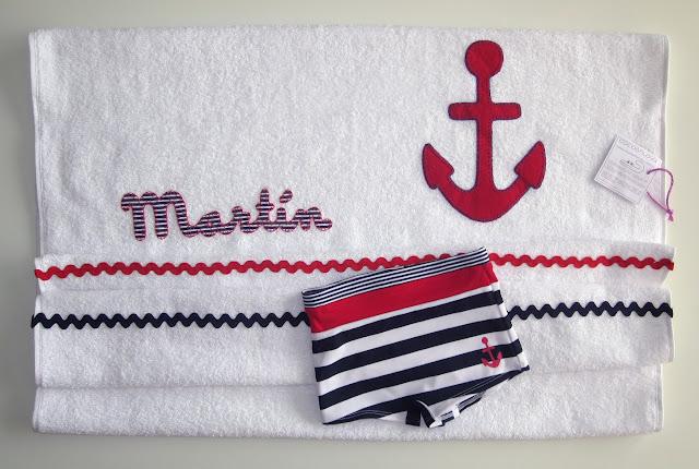 toalla marinera