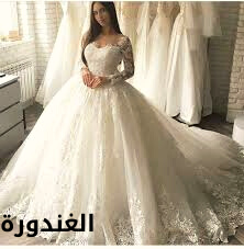 صور فساتين زفاف، ملكية انيقة موضة 2021