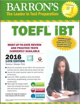 Download Free Barron's TOEFL iBT 2016 with DVD Book PDF