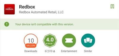 Aplikasi tidak compatible