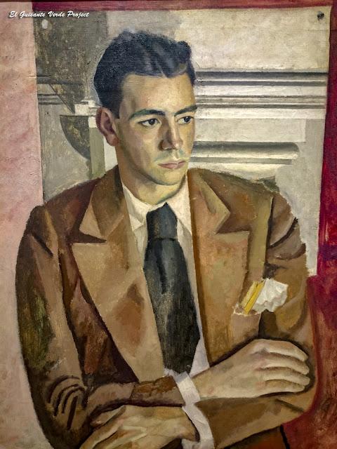 Retrato del pintor Díaz Caneja, Jesús Olasagasti - Museo Bilbao por EGVP