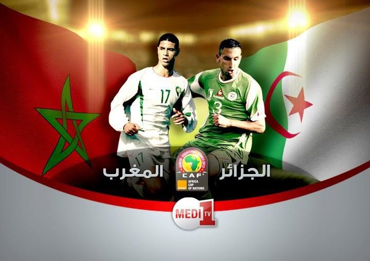 regarder match algerie maroc en direct live gratuit sur medi1tv match foot mondial en direct. Black Bedroom Furniture Sets. Home Design Ideas
