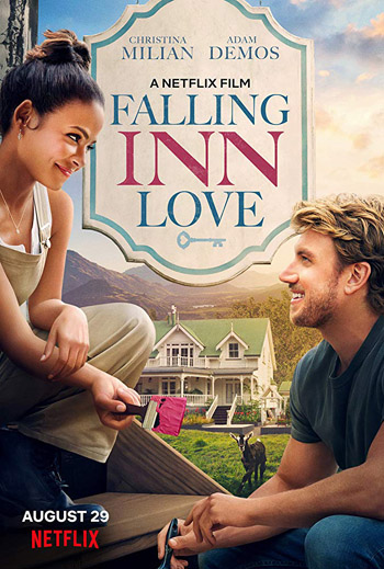Falling Inn Love 2019 Dual Audio ORG Hindi WEB-DL 480p 350MB