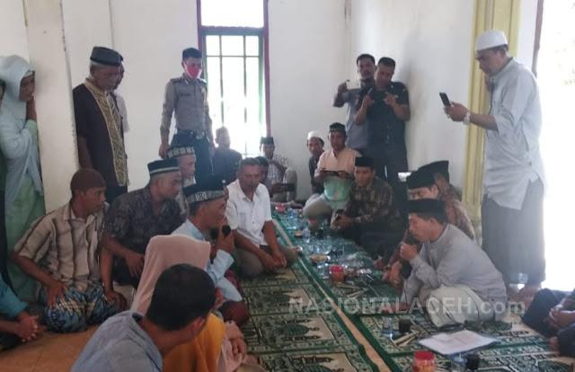 Masyaallah! Satu Keluarga Asal Nias Masuk Islam di Abdya